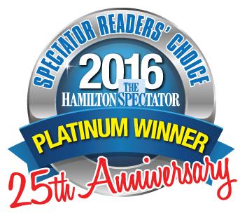 Hamilton Cleaners won platinum award 2016